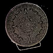 Calendrier Maya presse-papier noir 8cm.