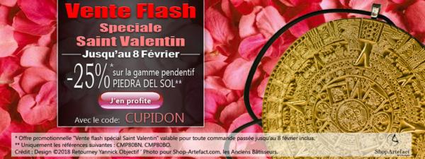 Vente Flash Spéciale Saint Valentin
