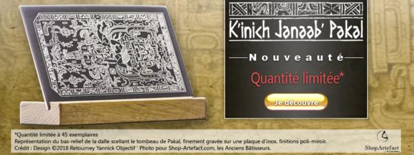 Je découvre K'inich Janaab' Pakal sur le site Shop Artefact