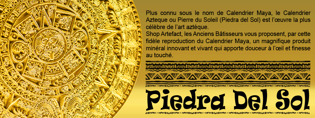 ShopArtefact-calendrier maya-Piedra del Sol