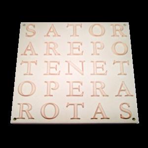 Carré SATOR  100