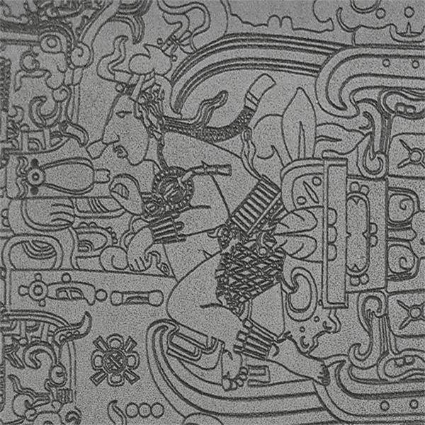 Magnet K'inich Janaab' Pakal Roi de Palenque. Photo ©Retourney Yannick pour Shop-Artefact.com, les Anciens Bâtisseurs.